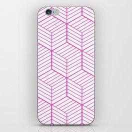 ZADA ((hot pink)) iPhone Skin