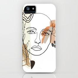 Menina iPhone Case
