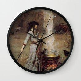 The Magic Circle, John William Waterhouse. Wall Clock