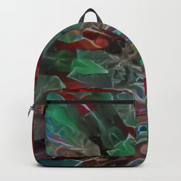 Fractal Toxic Collage Backpack