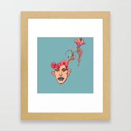 Take me to the other Sky Framed Art Print