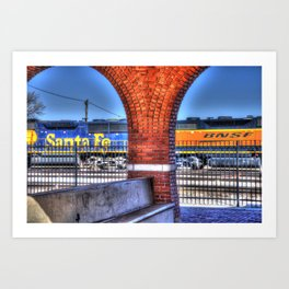 Santa Fe, BNSF Art Print