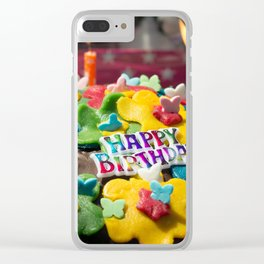 events and occasions Clear iPhone Case