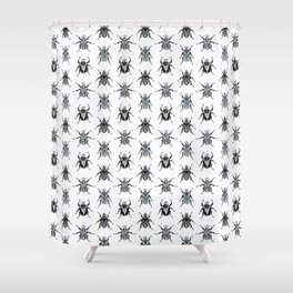 Goliath Beetles Shower Curtain