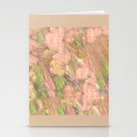 peony Stationery Cards featuring Peony  by Armin