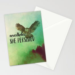 Nevertheless She Persisted Stationery Cards