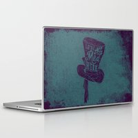 alice wonderland Laptop & iPad Skins featuring Alice in Wonderland by Drew Wallace