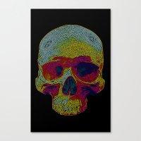 terminator Canvas Prints featuring Terminator by Rajasegar Chandiran