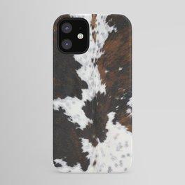 Brown Cowhide, Farmhouse decor iPhone Case