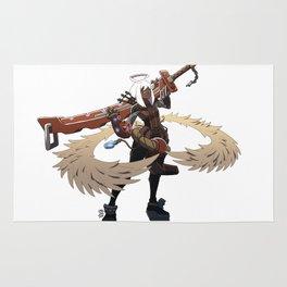 Angel warrior Rug