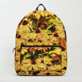 A field of Sunshine Backpack