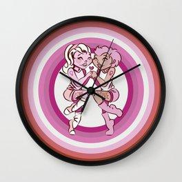 Love is Love - Femme Wall Clock