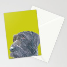Pointer printed from an original painting by Jiri Bures Stationery Cards