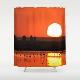 Doñana nuestro gran tesoro Spain Shower Curtain