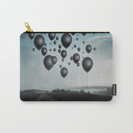 In Limbo - black balloons Carry-All Pouch