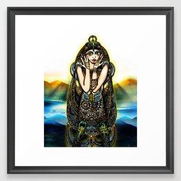 Astrology Illustration Series-Scorpio Framed Art Print