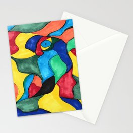 Stained Glass Eye Stationery Cards