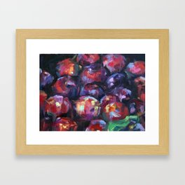 Sugar Plums Framed Art Print