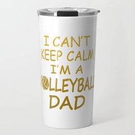 I'M A VOLLEYBALL DAD Travel Mug