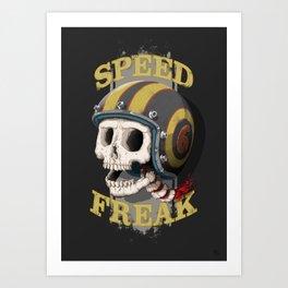 Speed Freak Art Print
