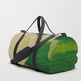 Cala Lily On Abstract Background Duffle Bag