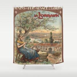 Vintage poster - France Shower Curtain