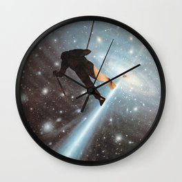 For Stephen Hawking - Reach For The Stars Wall Clock