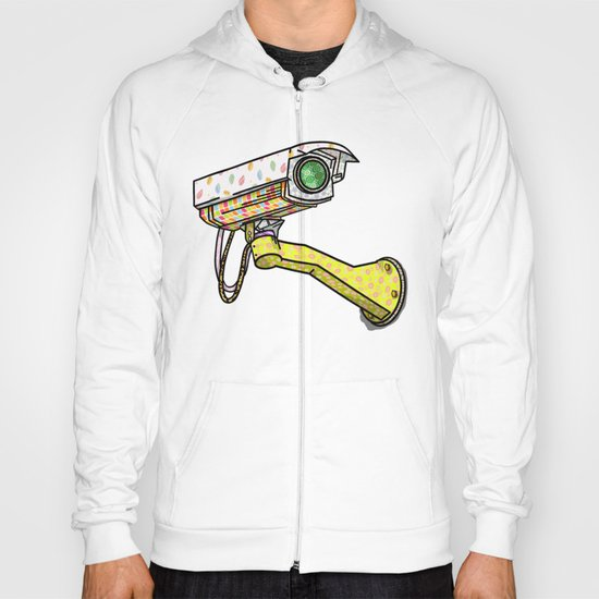 Security Camera Hoody