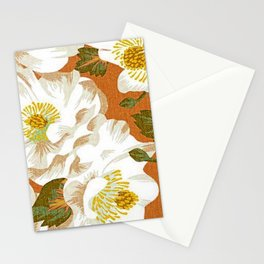 Floral abstract pattern texture Stationery Cards