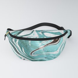 Marble Glitch 3 Fanny Pack