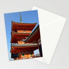 Kiyomizu-dera Pagoda Stationery Cards