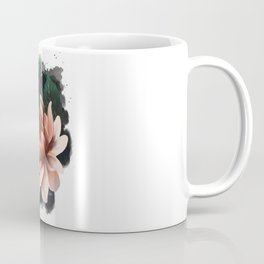 Ink and flowers Coffee Mug