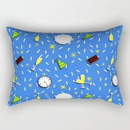 new years party Rectangular Pillow
