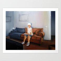 Squandered Life Art Print