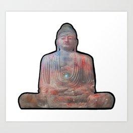 Buddha of Orion Art Print