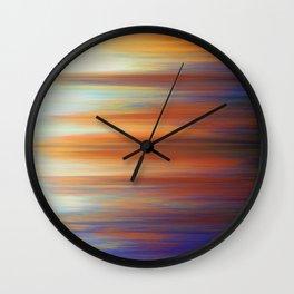 Pixel Sorting 44 Wall Clock