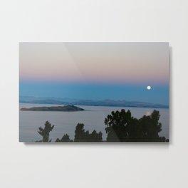 Isla Del Sol Moonrise Metal Print