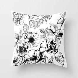 florid Throw Pillow