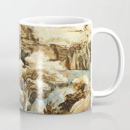 """Théodore Géricault """"View of Tivoli"""" Coffee Mug"""