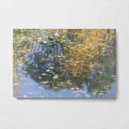 Claudet Monet visited Fiskars Metal Print