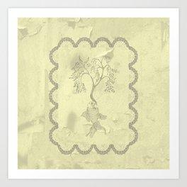 imaginary tree Art Print