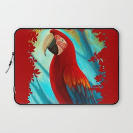 Technicolor Macaw Laptop Sleeve