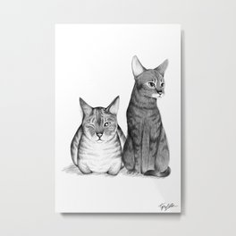 Monsoon And Sissy Metal Print