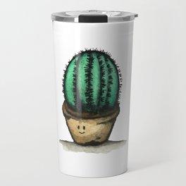 The Introvert Cactus Pot Travel Mug
