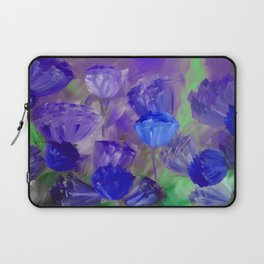 Breaking Dawn in Shades of Deep Blue and Purple Laptop Sleeve