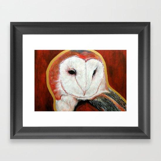 Dos Owl Framed Art Print