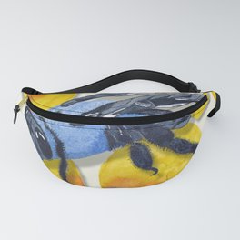 Carpenter Bee Blooms Fanny Pack