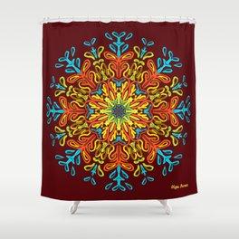 Gracias a la Vida (Vino) Shower Curtain