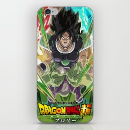 Dragon Ball Super Broly Movie Poster (FAN ART) iPhone Skin