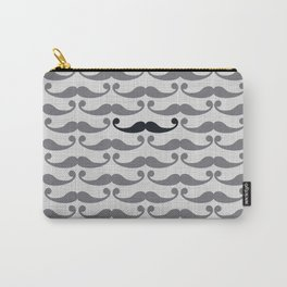 Mustaches Carry-All Pouch